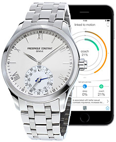 Frederique Constant Horological Smartwatch FC-285S5B6B